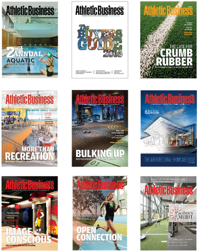 Athletic Business Cover Art 2016